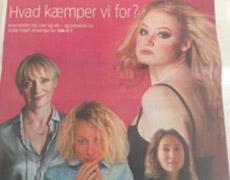 Interviewet til artiklen 'Kvindekamp og mandefald' i Jyllandsposten