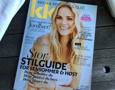Interview i det norske magasin KK om skønhed og magt