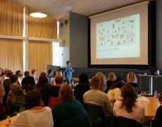 Foredrag om Børn, køn og identitet på Møllevangskolen i Århus