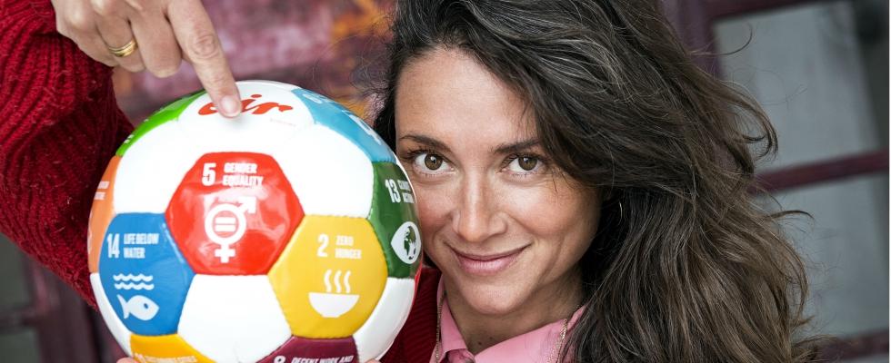 Cecilie as Global Goals Ambassador