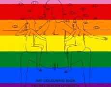 Malebogen fejrer Pride