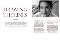 'Drawing the lines' om Cecilies kunstmalebog og arbejde i det hele taget