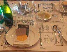 Cecilie deltog med kunstmalebogen 'Facing Gender Diversity'i middagen 'Serata – en Københavnsk aften'