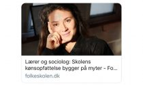 Interview i fagbladet Folkeskolen 'Skolens kønsopfattelse bygger på myter'