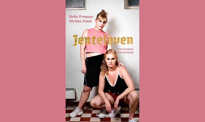 JENTELOVEN. Cecilie interviewer Sofie Frøysaa og Ulrikke Falch på trappen i Politikens Boghal den 27. okt kl.10. Kom glad og tag din teenager med!