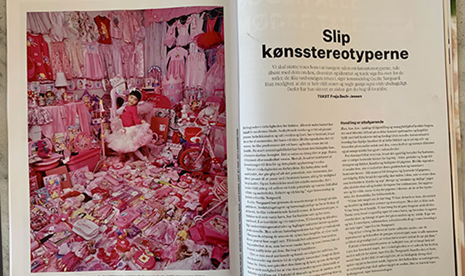 Cecilie er interviewet til magasinet Costume: 'Slip kønsstereotyperne!'