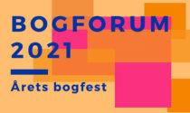 Cecilie på Bogforum 2021 med 'HAN HUN HEN'